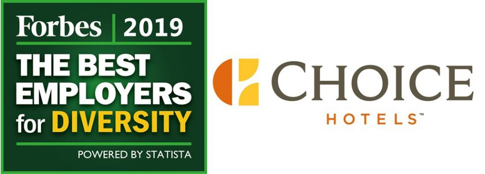 "FORBES NOMINA CHOICE HOTELS ""BEST EMPLOYER FOR DIVERSITY"""
